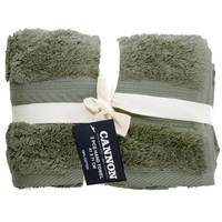Cannon Hand Towel 2pc set Sage 41X71cm