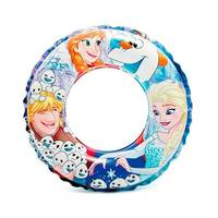 INTEX Inflatable Swim Ring 51 Cm Ages 3-6 Years Frozen