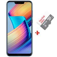 Honor Play Dual Sim 4G 64GB Blue + Micro SD 64GB