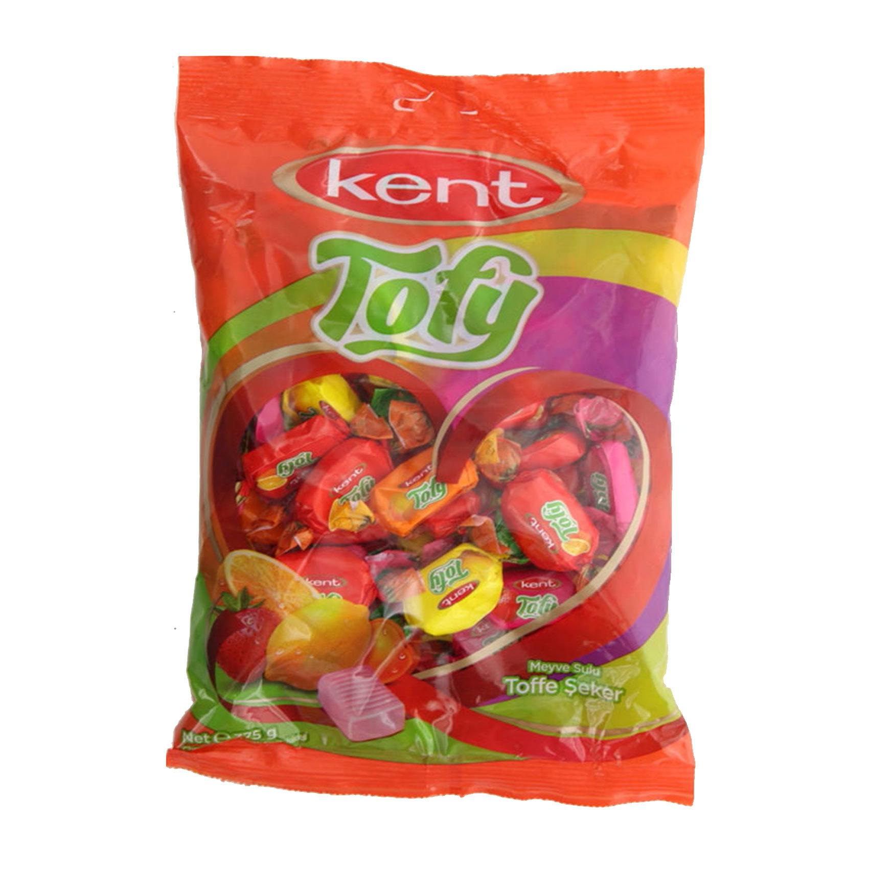KENT MISS TOFY FRUIT CHEWS 375GR