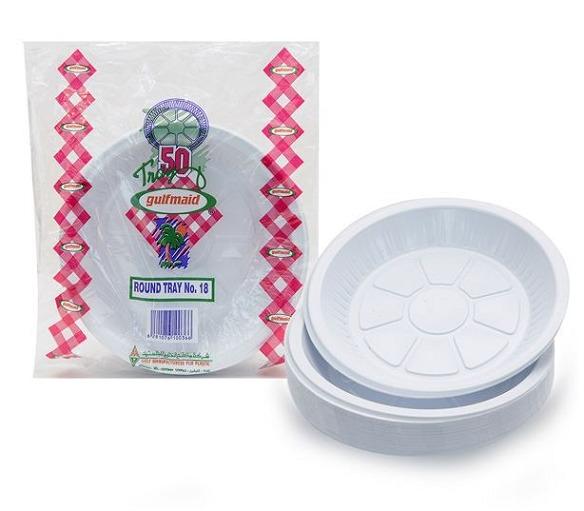 GULFMAID PLASTIC PLATE NO.18 50PC