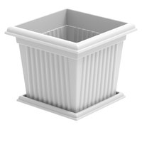 Cosmoplast Planter Square & Tray 45L 111
