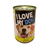 I Love My Dog Chicken 400GR