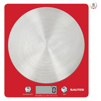 Salter Digital Kitchen Scale 1046 RDDR Red Color Weigh