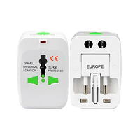 Travel Universal Adaptor With Surge Protector 10A