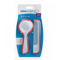 Bebeconfort Brush And Comb With Mirror Navy/Red