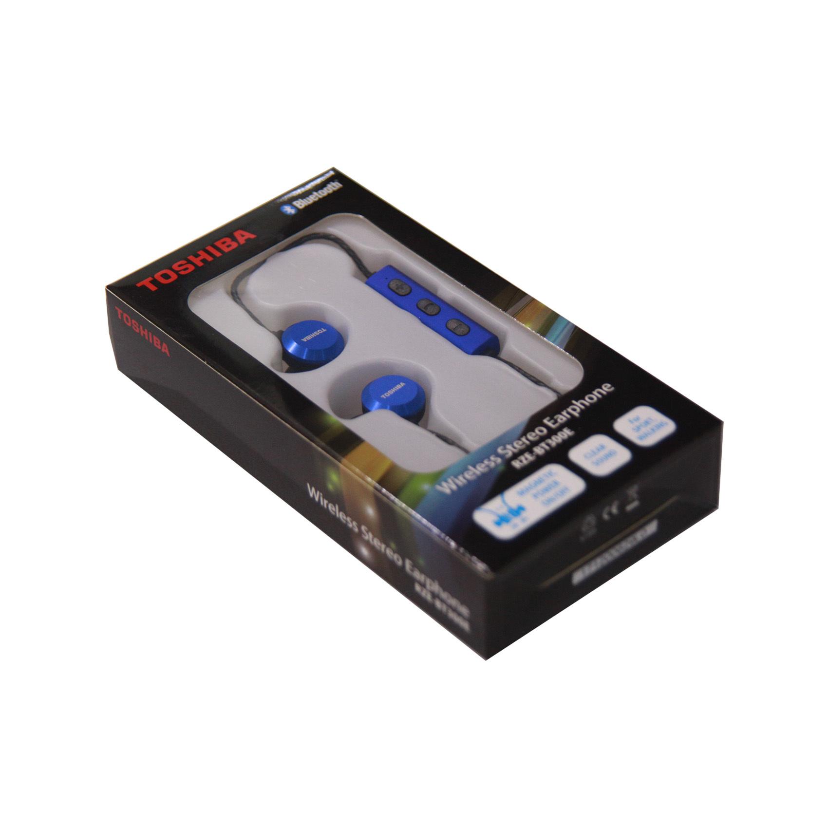 TOSHIBA EARPHONE RZE-BT300 BLUE
