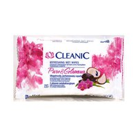 Cleanic Refreshing Wet Wipes Pure Glamour X15 Sheets