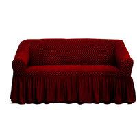 Tendance S Sofa Cover 3 Seater Burgundy