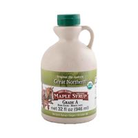 Great Northern Organic Maple Syrup Dark Color Robust Taste 946 Ml