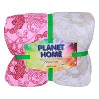 Planet Home Microfiber Comforter 220X240 Light Pink