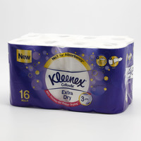 Kleenex Extra Dry Toilet Tissues 160 Sheets 3 Ply 16 Rolls