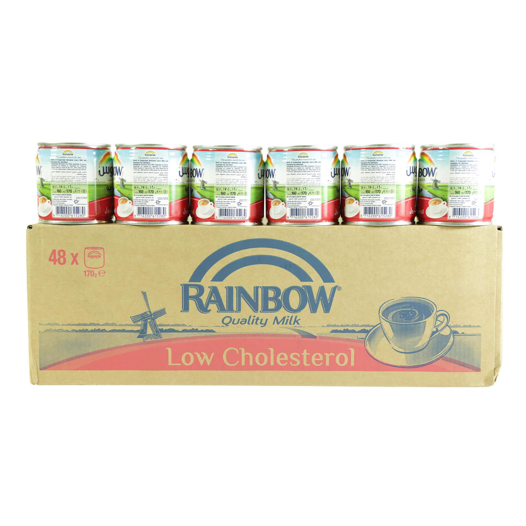 RAINBOW CHOLESTEROL FREE 170GRX48