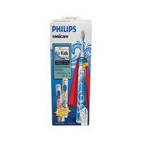 فرشاة أسنان كهربائية فيليبس للعناية الحساسة للأطفال لون أبيض