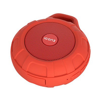 Iconz Bluetooth Wireless Red Portable Speaker IMW-BS01R
