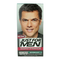 Just For Men Shampoo-In Dark Brown Black H-45 Haircolour