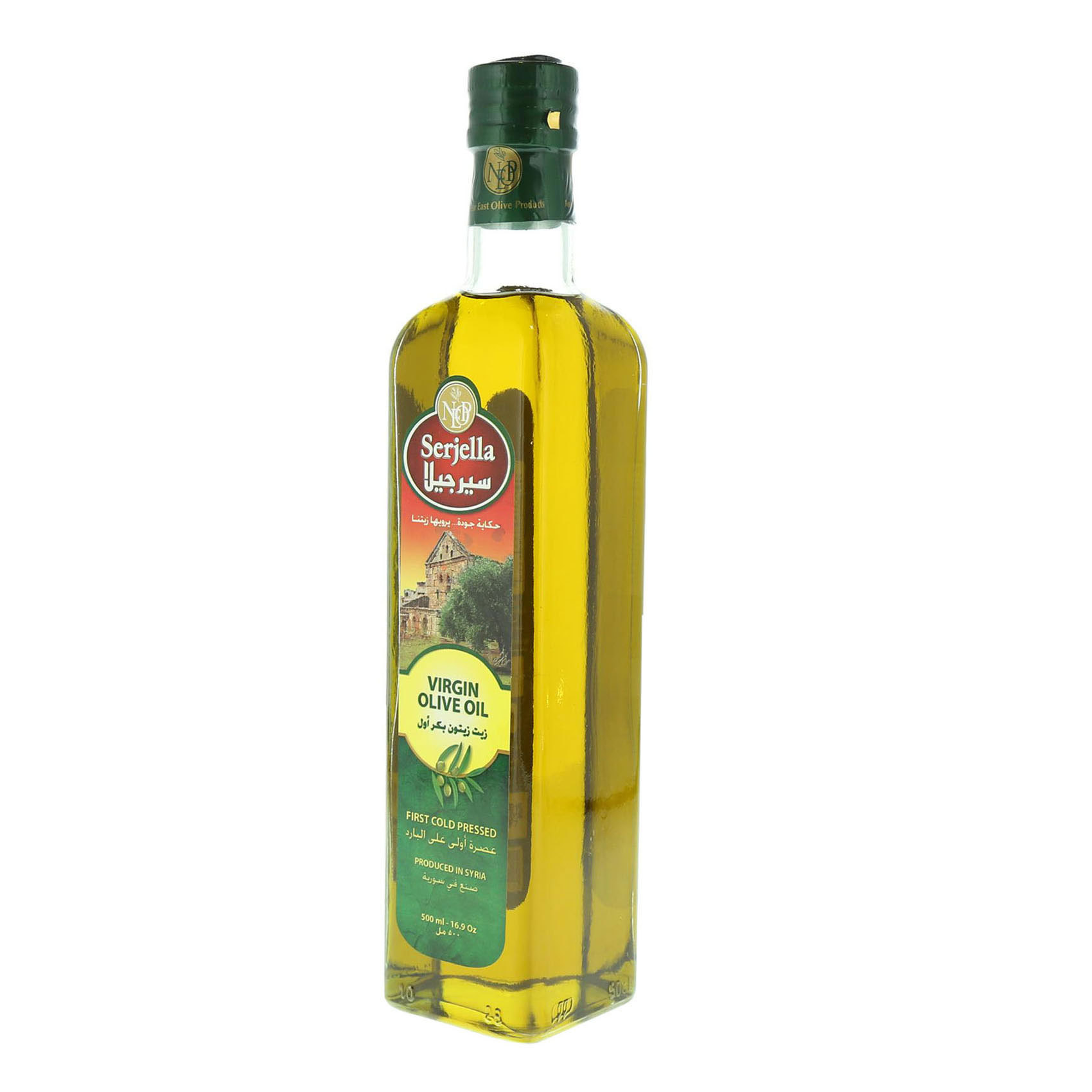 SERJELLA VIRGIN OLIVE OIL 500ML