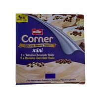 Muller Corner Mini Vanilla & Banana Chocolate Balls Yoghurt 85g x8