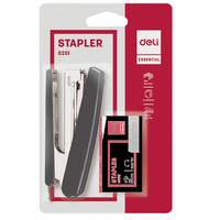 Deli Stapler 10 Set Asst Color