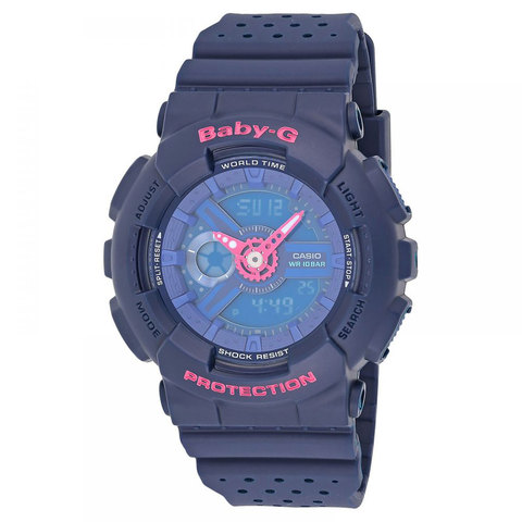 Buy Casio Baby G Women  39 s Analog Digital Watch BA-110PP-2A Online - Shop  null on Carrefour UAE 17d7f73630d4