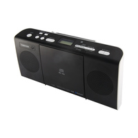 TOSHIBA Radio CD TY-CWU25K Micro Hifi Black And White