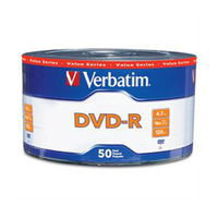 Verbatim DVD-R WRP 97493 Pack Of 50