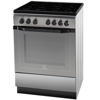 Indesit 60X60 Cm Electric Cooker I6VV2AXEX 4 Ceramic