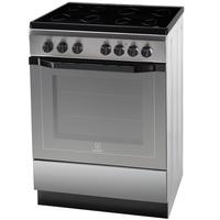 Indesit 60X60 Cm Electric Cooker I6VV2AXEX 4 Ceramic