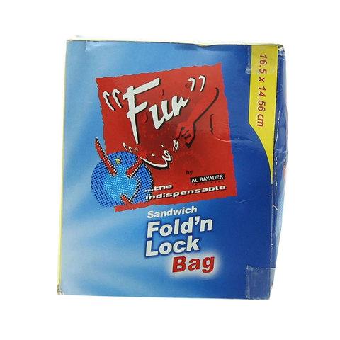 Fun-Fold'N-Lock-Sandwich-Bag-(16.5-X-14.56Cm)