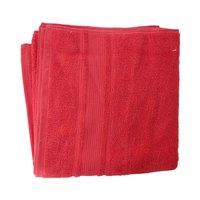 كنزي منشفة إستحمام قياس 70x140 سم لون أحمر