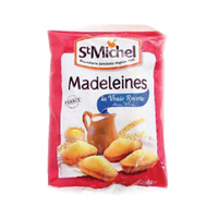 St Michel Mini Madeleines Traditional French Sponge Cakes 250GR