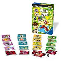 Ravensburger Ben 10: Alien Duel Games, 72 Cards