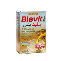 Blevit Plus Baby Food 8 Cereals with Fruits 300 g