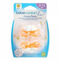 Bebeconfort Classic Physiological Dummies Silicone (0 -12M) x2