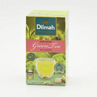 Dilmah Ginger Green Tea x 20 Pieces