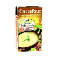 Carrefour Soup Peas & Bacon 1L