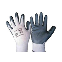 Nitrile Gloves Coated Size 10