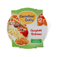 Carrefour Baby Spaghetti Bolognese Assorted 230GR