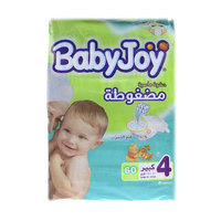 BabyJoy Diapers Size 4 Large 60 Dipers