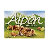 Alpen Fruit & Nut Bar 29g x5