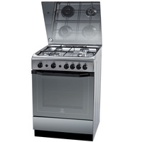 Indesit 60X60 Cm Gas Cooker I6TG1GKXEX 4Burners