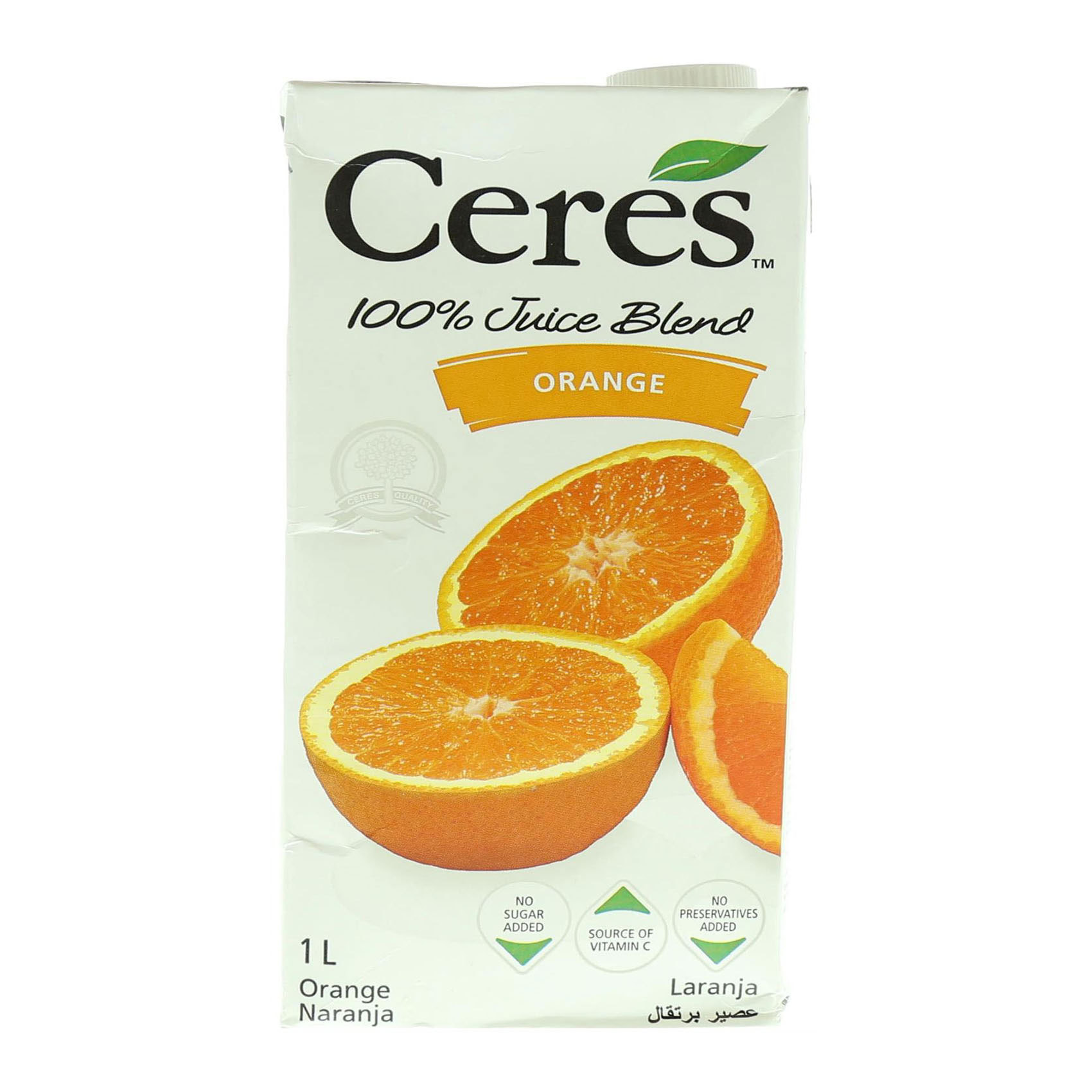 CERES JUICE ORANGE 1L