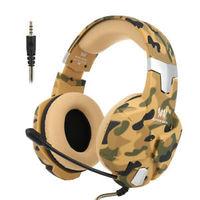 سيدس سماعات رأس للألعاب G2600 لون عسكري