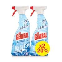 Der General Glass Cleaner 750ML X2-20%