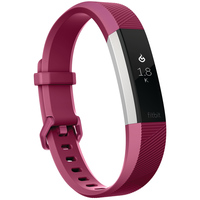 Fitbit Wearable Alta Heart Rate Small Fuchsia
