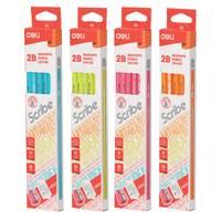 Deli Graphite Pencil 2B Scribe