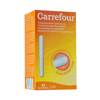 Carrefour Tampons avec applicateur normal X20
