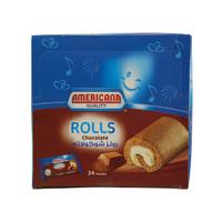 Americana Chocolate Rolls 25g x24