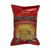 Pran Jhal Muri Puffed Rice Mixed with Spices & Peanut Wasbi Flavor 150g