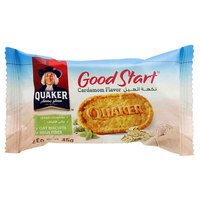 Quaker Good Start Oat Biscuits Cardamom Flavour 45g
